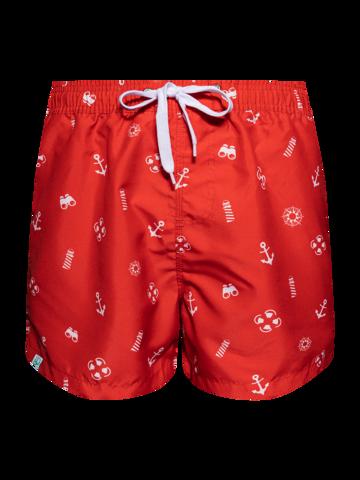 Výjimečný dárek od Dedoles Veselé pánské plavkové šortky Plavčík