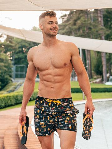 Sale Men's Swim Shorts Beach Beer