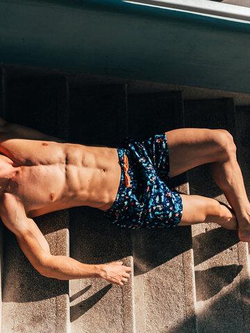 Original gift Men's Swim Shorts Sea Life