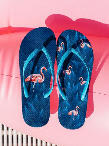 Lifestyle photo Flip Flops Night Flamingo