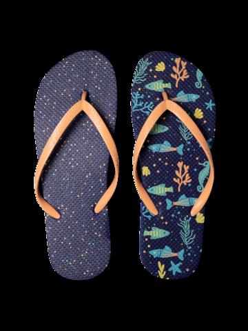 Lifestyle photo Flip Flops Sea Life