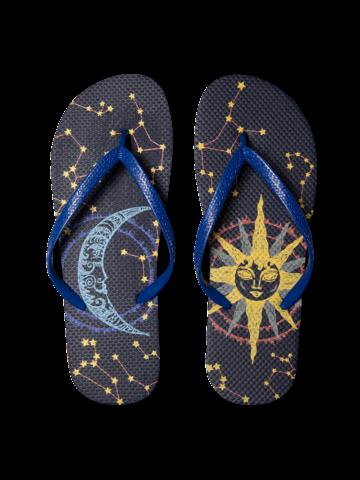 Gift idea Flip Flops Sun and Moon