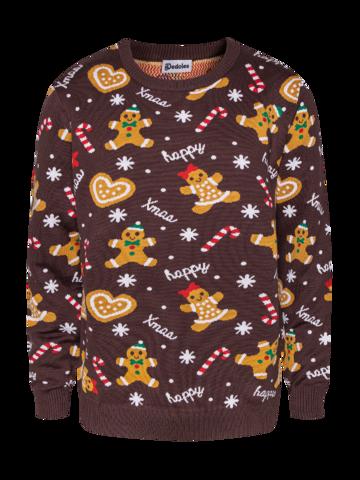 Pomysły na prezenty Wesoły sweter świąteczny Imbir