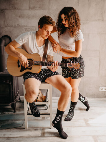 Geschenk von Dedoles Lustige Shorts für Männer Musik