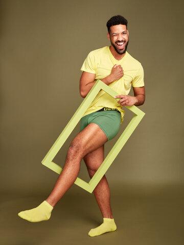 Pre dokonalý a originálny outfit Stromovo zelené pánske boxerky