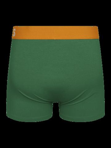 Indicație pentru cadou Boxeri bărbați verde închis