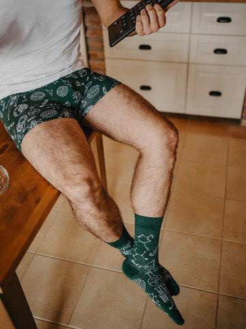 Foto Vidám férfi bokszeralsó Fizika kontra Kémia