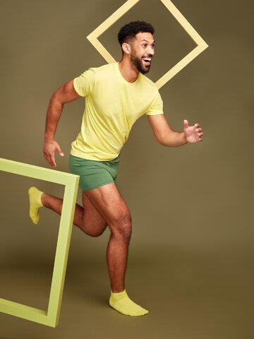 Gift idea Lime Bamboo Ankle Socks