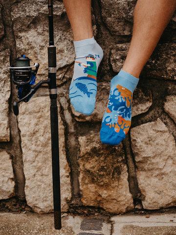 Výnimočný darček od Dedoles Živahne kratke nogavice Ribolov