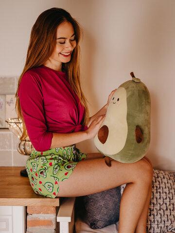 Geschenk von Dedoles Lustige Shorts für Frauen Avocado-Liebe