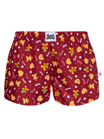 Geschenk von Dedoles Lustige Shorts für Frauen Lebkuchen-Welt