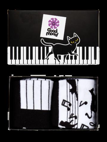 Bereiten Sie sich Freude mit diesem Dedoles-Stück Geschenkbox Piano-Katze
