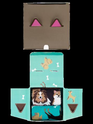 Výprodej Dárková krabička Psí kamarádi