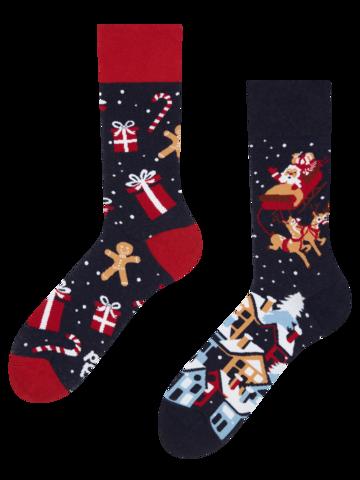Suchen Sie ein originelles und außergewöhliches Geschenk? überrascht den Beschenkten sicher Geschenkbox Weihnachtsmann und Rudolf