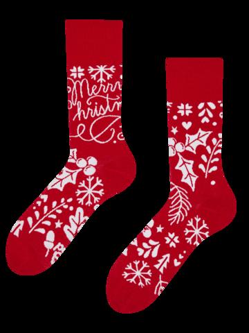 Ausverkauf Geschenkbox Weihnachtsmann und Rudolf
