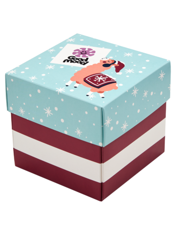 Foto Geschenkbox Verrückte Weihnachten