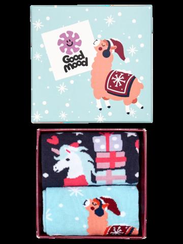 Suchen Sie ein originelles und außergewöhliches Geschenk? überrascht den Beschenkten sicher Geschenkbox Verrückte Weihnachten