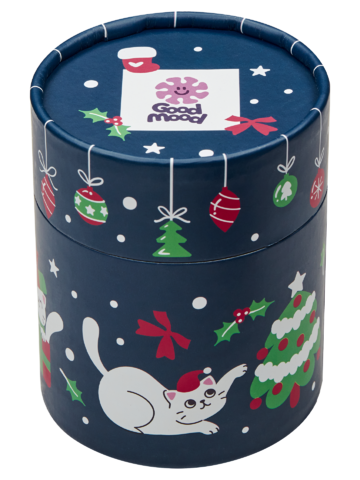 Ausverkauf Geschenkbox Weihnachtskatzen