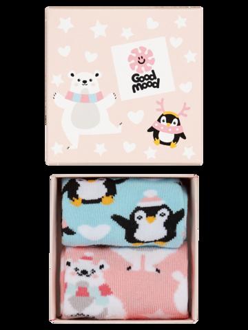 Výnimočný darček od Dedoles Darilna škatla za otroke Polarne živali
