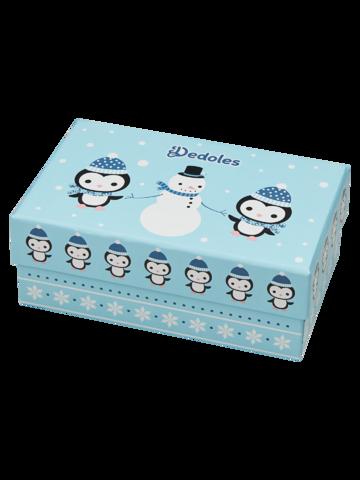 Reducerea Cutie Cadou de Iarnă pentru Copii Pinguin & Om de Zăpadă