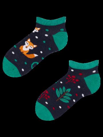 Potěšte se tímto kouskem Dedoles Veselé dětské kotníkové ponožky Rezavá liška