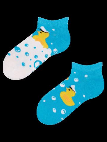 Tip na dárek Veselé dětské kotníkové ponožky Kapitán kačenka