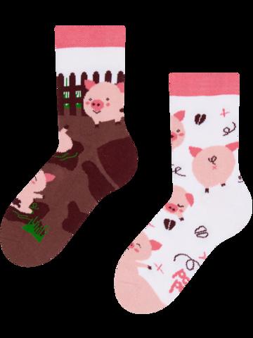 Pre dokonalý a originálny outfit Vesele dječje čarape Sretni praščići