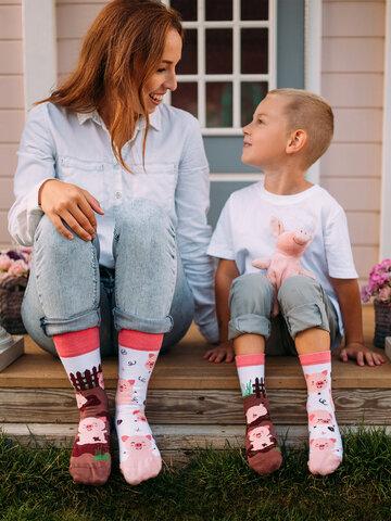 Potešte sa týmto kúskom Dedoles Vesele dječje čarape Sretni praščići
