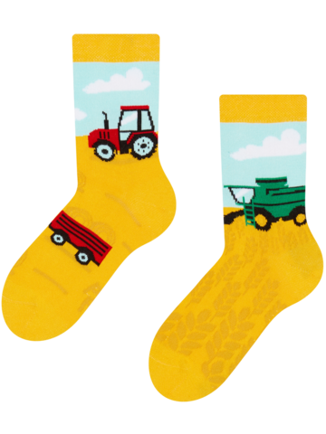Výpredaj Veselé detské ponožky Traktor