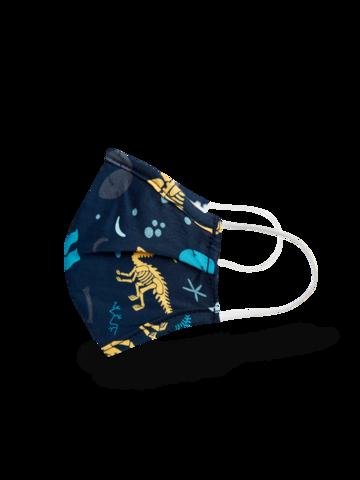 Cadou original de la Dedoles Mască Facială Veselă pentru Copii Dinozauri