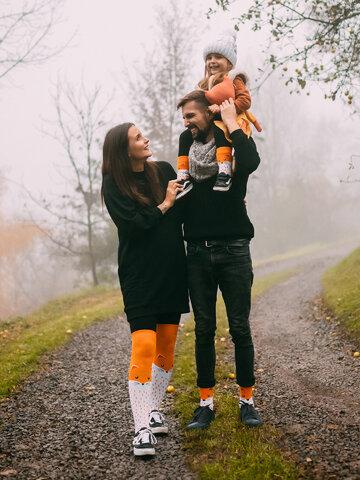 Ausverkauf Lustige warme Socken für Kinder Flauschiger Fuchs
