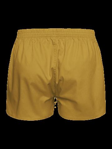 Dedoles oryginalny prezent Musztardowo żółte szorty męskie