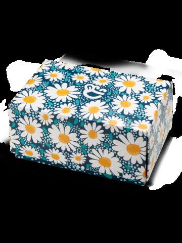 Výnimočný darček od Dedoles Klasická darčeková krabička Kvet sedmokrásky