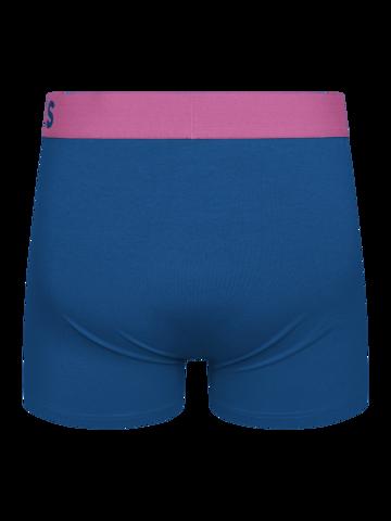 Potešte sa týmto kúskom Dedoles Kráľovsky modré pánske boxerky