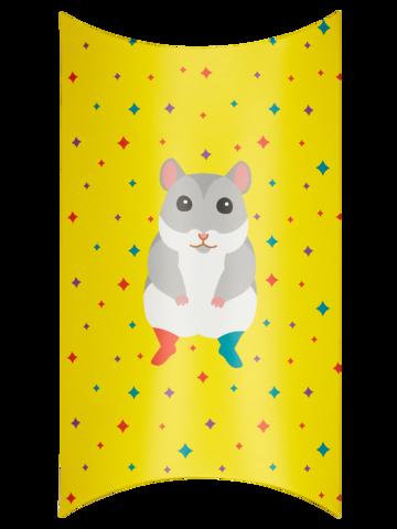 Obrázok produktu Oválna darčeková krabička Škrečok v ponožkách