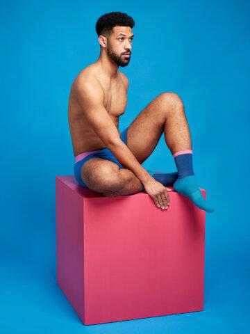 Zľava Plavozelene i ružičaste sportske čarape