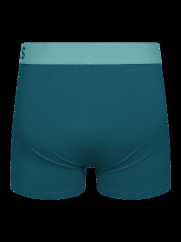 Foto Blaugrüne Boxershorts für Männer
