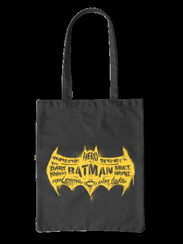 Pre dokonalý a originálny outfit Canvas Tote Bag DC Comics™ Batman Logo