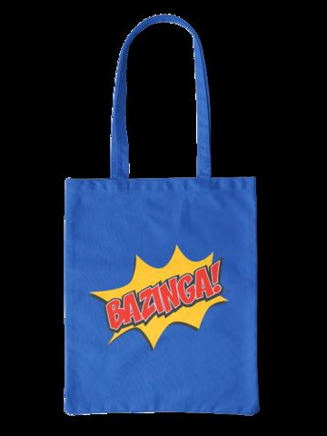 Lifestyle foto Платнена торбаThe Big Bang Theory™ Bazinga