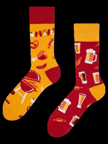 Výnimočný darček od Dedoles Vesele čarape Pivo i roštilj