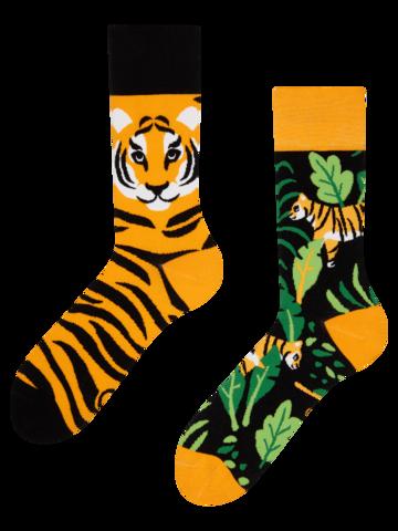 Výpredaj Veselé ponožky Tiger v džungli