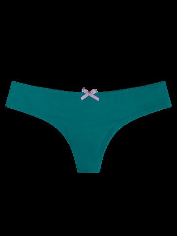 Hľadáte originálny a nezvyčajný darček? Obdarovaného zaručene prekvapí Smaragdovo zelené dámske brazílske nohavičky
