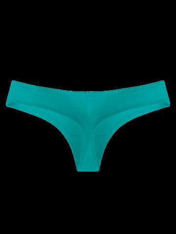 Výjimečný dárek od Dedoles Tyrkysové dámské brazilské kalhotky