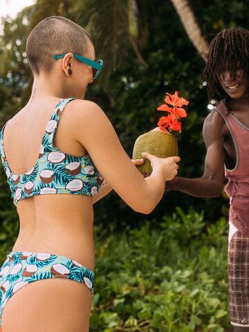 Zľava Veseli sportski gornji dio bikinija Kokos