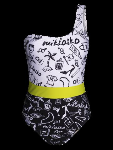 Tip na darček Veseli ženski jednodijelni kupaći kostim Miklosko i Dedoles