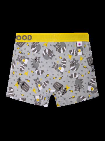 Rabatt Lustige Boxershorts für Jungen Waschbär
