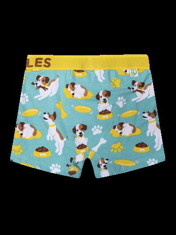Sleva Veselé chlapecké boxerky Šťastný pes