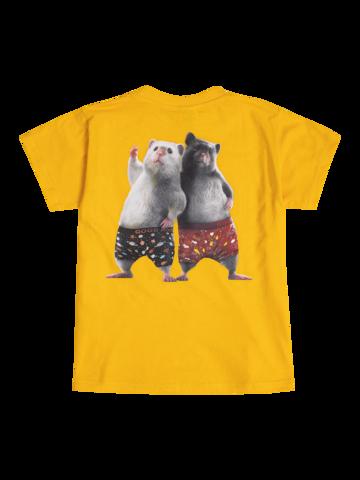 Tip na darček Živahna ženska majica Dedolesovi hrčki
