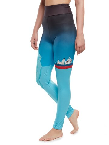 Výnimočný darček od Dedoles Vrolijke high-waisted leggings IJsberg