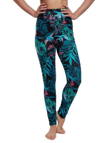 Pre dokonalý a originálny outfit High Waisted Leggings Night Tropics